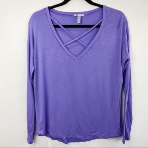 Victoria Secret pink super soft v-neck tee